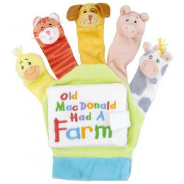 Scholastic Old MacDonald: A Hand-Puppet Board Book