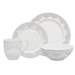 Monsoon Filigree Silver Place Setting