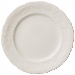 Rose Sauvage Blanche Place Setting