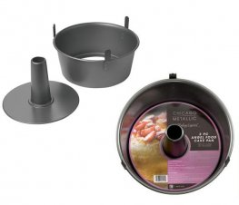 Chicago Metallic 2 Piece Angel Food Cake Pan