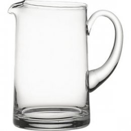 Crystal Clear Tall Pitcher