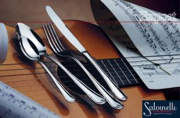 Salvinelli Export Gold Basic Cutlery Set