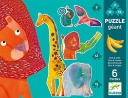 Djeco Jungle Stages Puzzle