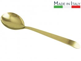 Salvinelli Long Serving Spoon-Gold