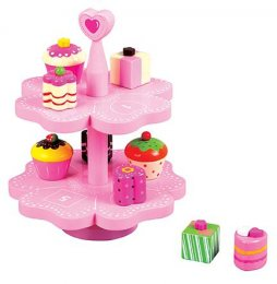 Lelin Magnetic Heart Cake Stand