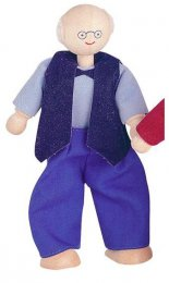 Plan Toys Grandfather Doll