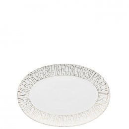 TAC Skin Gold Oval Platter - Small