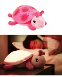 Cloud b - Twilight Ladybug Pink
