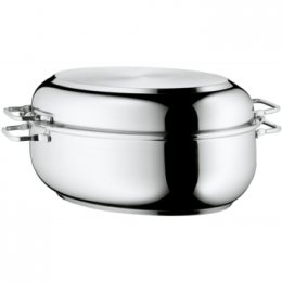 WMF Oval Roasting Pan with Lid