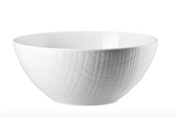 Mesh White Soup Bowl